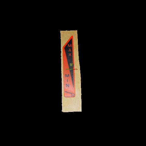NAKLEJKA TMS ( MAX - MIN ) AGCO F718970160110