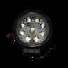 Lampa robocza LED okrągła 2100Lm 9-LED L0076