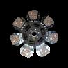 TARCZA SPRZĘGŁA CERAMICZNA ZETOR 64021902  , 64021903 FI 310 MM 27/30 MM LUK 331031710