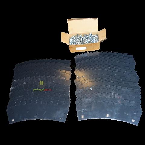Zerstaw noży CLAAS RU 450 / XTRA ZAM. 999549 i 996313 HARDOX