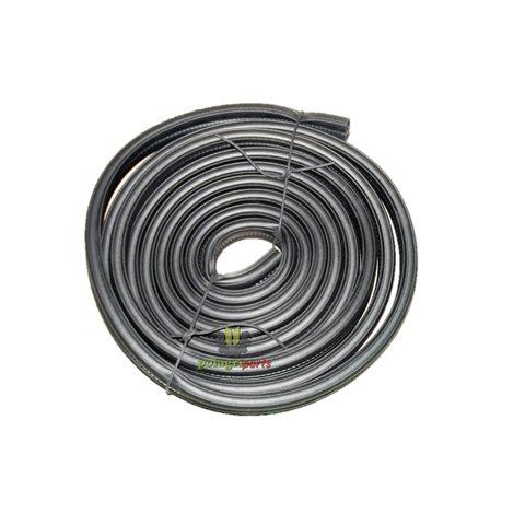 Uszczelka szyby z metalowym okuciem 5 m.zacisk od 4 - do 6 mm  654921394/5