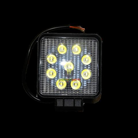 Lampa robocza kwadratowa 9LED LED0077