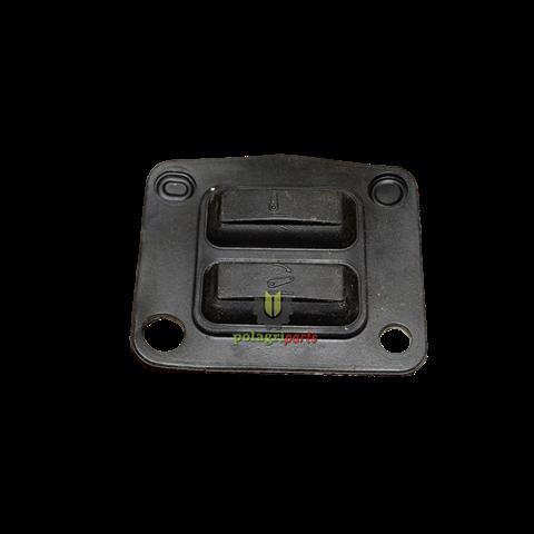 Nakładka gumowa przycisku ehr john deere na błotniku do al172871l169912, r234272