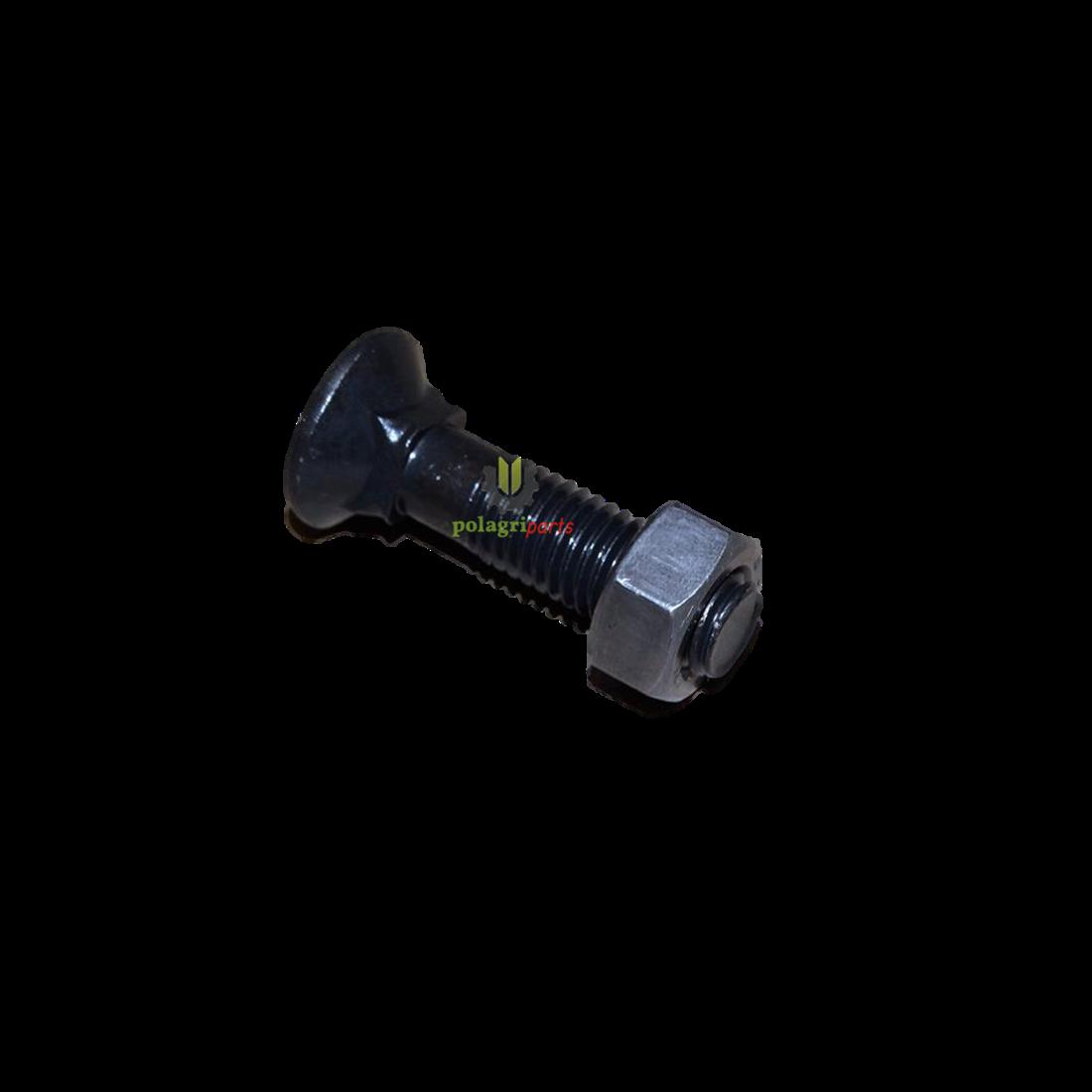 Śruba płużna z nakrętką 608 12X50