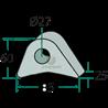 UCHO RAMKI DO WSPAWANIA 77818100-20F