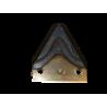 Nóż frezujący paszowozu 88 x 76 x 3, prosty Faresin
