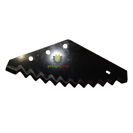 Nóż do paszowozu 557x215x6, utwardzony MWS Metal-Fach