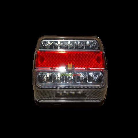 Lampa tylna zespolona led la99190gp 106 x 98 mm, 12v