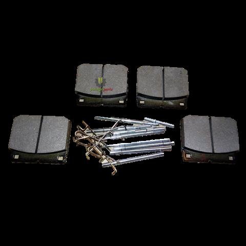 Klocki hamulcowe fastrac 75 mm tył kpl. 4 szt , 15/920396 , 15/920117