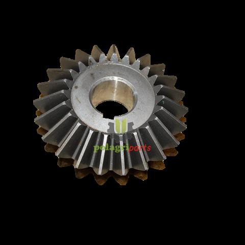 Zębatka przekładni wysypu ziarna z-23 na klin claas 605587