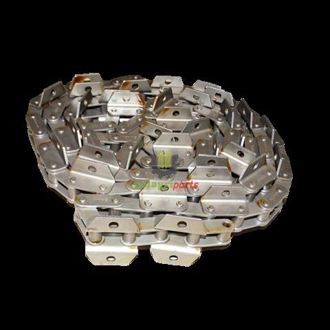 łańcuch przeniśnika pochyłego środkowy  kpl. claas rollon solid 630643 , 520069 520172