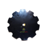 TALERZ BRONY UZĘBIONY FI 560 MM OTWÓR KWADRAT 30 MM GOPART  52401202030130