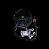 Lampa robocza LED, 27W, 10-30V, 9 EPISTAR LEDx3W, FLOOD, Okrągła