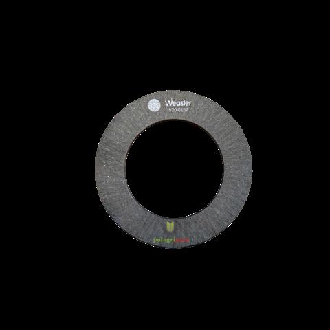 Tarcza cierna sprzęgła k96 100 x 157 x 3mm , 118068 , weasler 567312 , 5200157