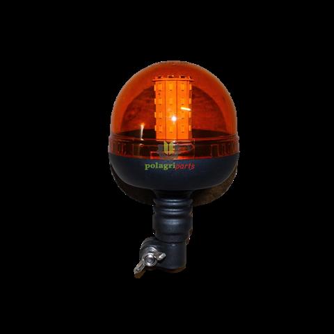 Lampa błyskowa ostrzegawcza led lb186led z przełącznikiem, niska