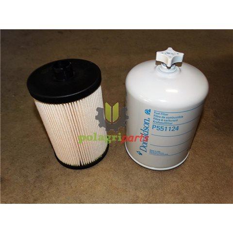 Zestaw filtrów paliwa john deere re520906 p551124