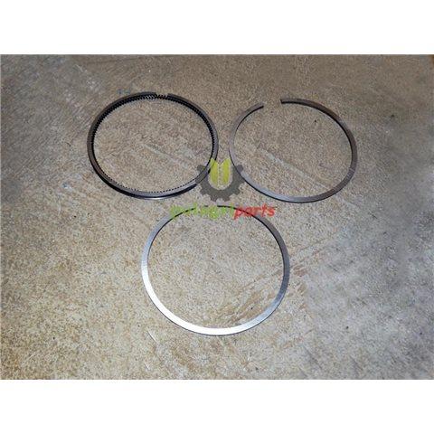 Pierścienie tłokowe kompresora wabco 411141002 , fi 75 mm +0.25  2/4mm vaden 751201