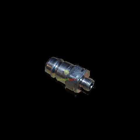 Szybkozłącze wtyka gw. 14  skpm12l14
