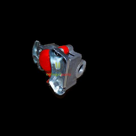Złącze pneunatyczne wabco czerwone m16 9522002210
