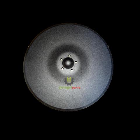 Talerz wysiewający kuhn 350x3mm 5-otw k3112480