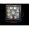 LAMPA ROBOCZA LED 9 LED KWADRAT 12 / 24 V 540000014422