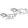 RAMIĘ ZGRABIARKI NIEMEYER RS 620/640 LEWE NA TRZY GRABIE 012518