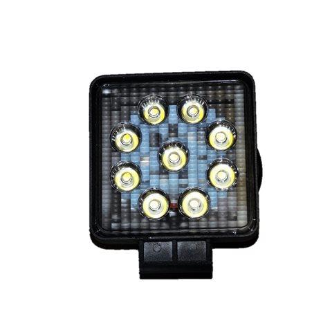 LAMPA ROBOCZA 9 LED 27W 12V 24V SZPERACZ HALOGEN