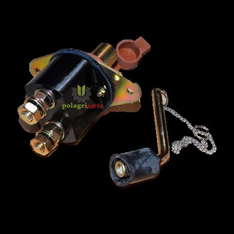 Odłącznik akumulatora (hebel) 24V, 300A - z kluczem